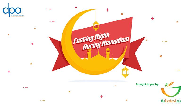 Fasting Right during Ramadan
