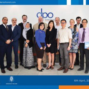 DPO International welcomes the Belgian Delegation