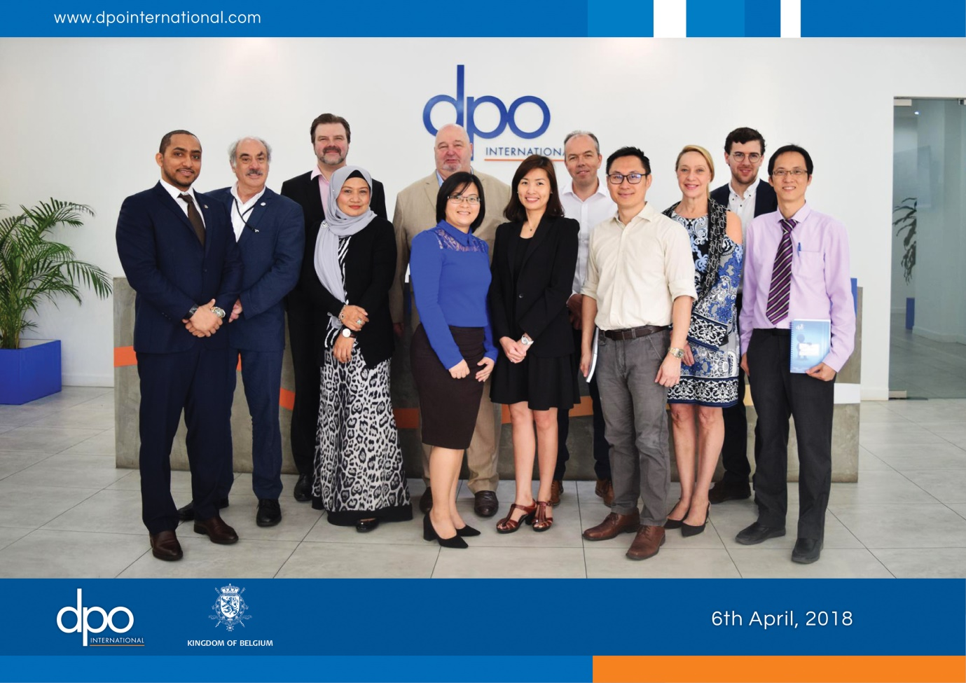 DPO International welcomes the Belgian Delegation